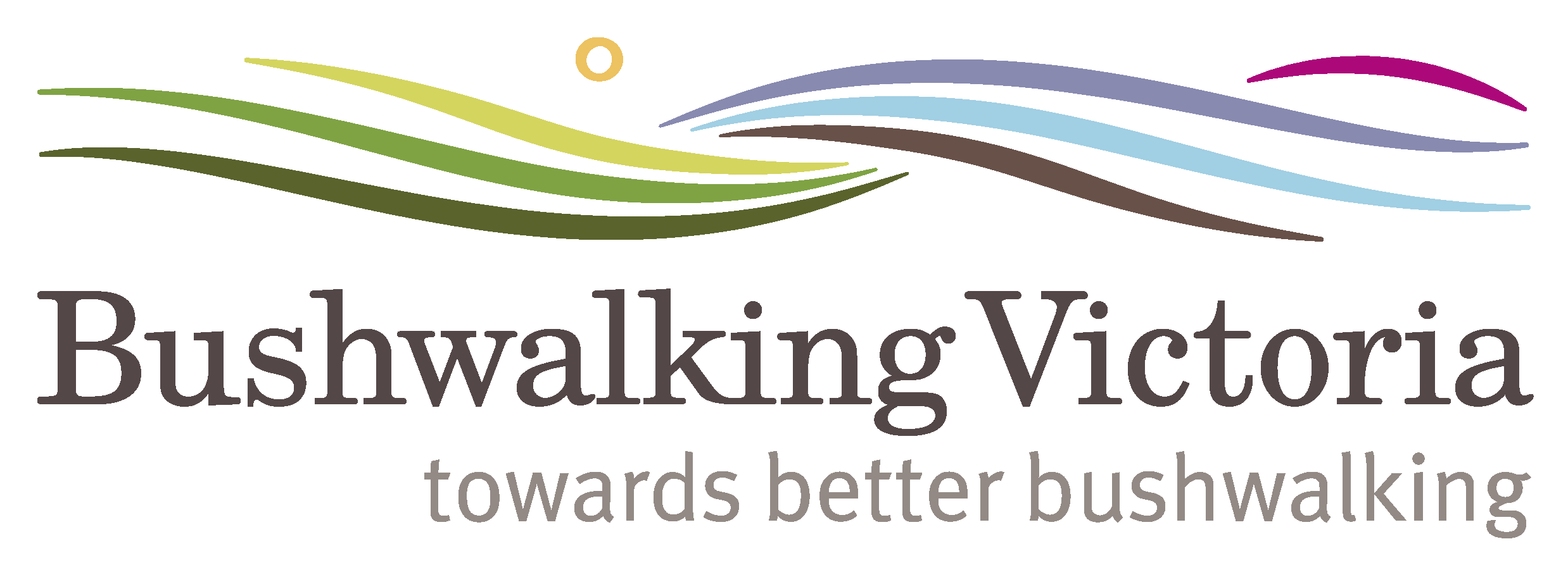 Bushwalking Vic logo with tagline 2